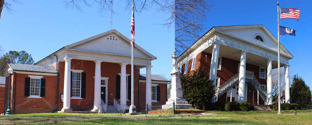 Nottoway County Circuit Court and Historic Lunenburg County Court House